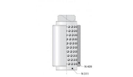 Bague cage plastique à billes N311