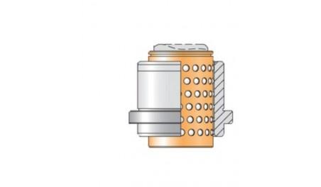 Bague complète N065 cage billes N411