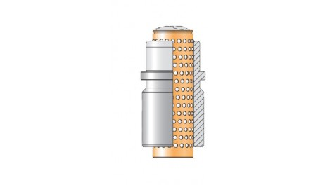 Bague complète N066 cage billes N411