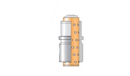 Bague complète N063R cage rouleaux N911