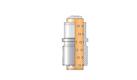 Bague complète N066R cage rouleaux N911