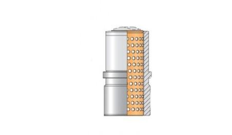 Bague complète N418.S cage billes N411