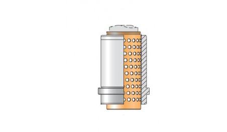 Bague complète N419.S cage billes N411