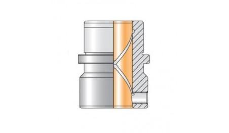 Bague bronze suivant ISO 9448 N084