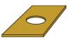 Plaque isolante P 600 N/mm² N51