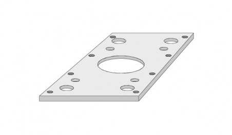 Plaque isolante P 330 N/mm² N56